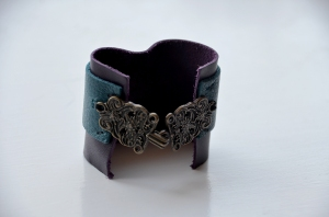 Leather Colorful Cuff