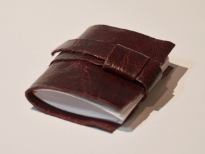 Red/Brown Book with Strap