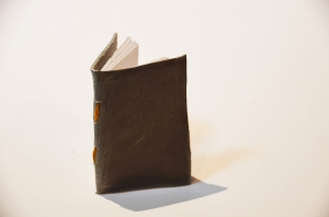 Mini Green Handmade Book