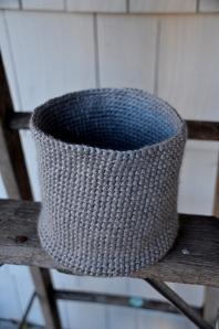 Crocheted Bin Photo - 2