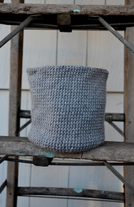 Crocheted Bin Photo - 4